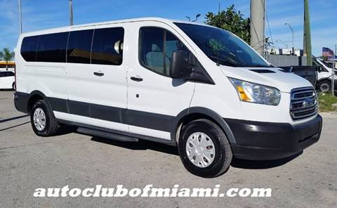 8b1f073f7b 2015 Ford Transit Passenger for sale at AUTO CLUB OF MIAMI