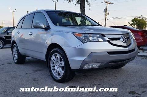 2008 Acura MDX for sale in Miami, FL