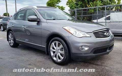 2012 Infiniti EX35 for sale in Miami, FL