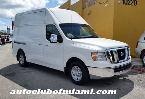 ac2261b82b 2012 Nissan NV Cargo for sale at AUTO CLUB OF MIAMI