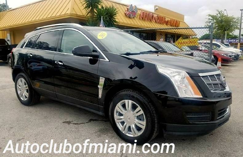 2011 CADILLAC SRX LUXURY COLLECTION 4DR SUV black amazing cadillac srx a must see alloy wheelsnew