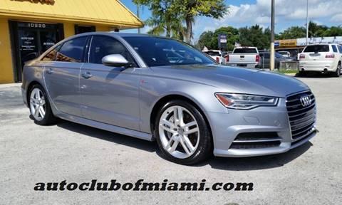 2016 Audi A6 for sale in Miami, FL