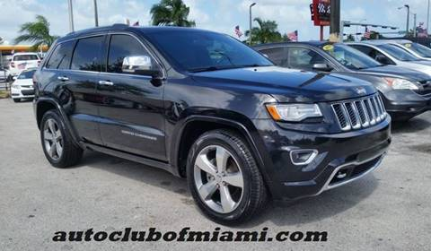 2014 Jeep Grand Cherokee for sale in Miami, FL