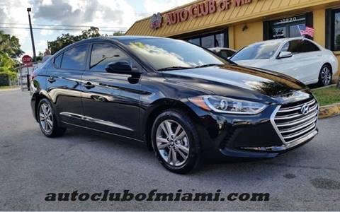 2017 Hyundai Elantra for sale in Miami, FL