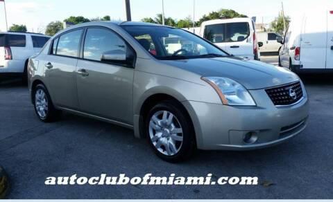 2009 Nissan Sentra for sale in Miami, FL