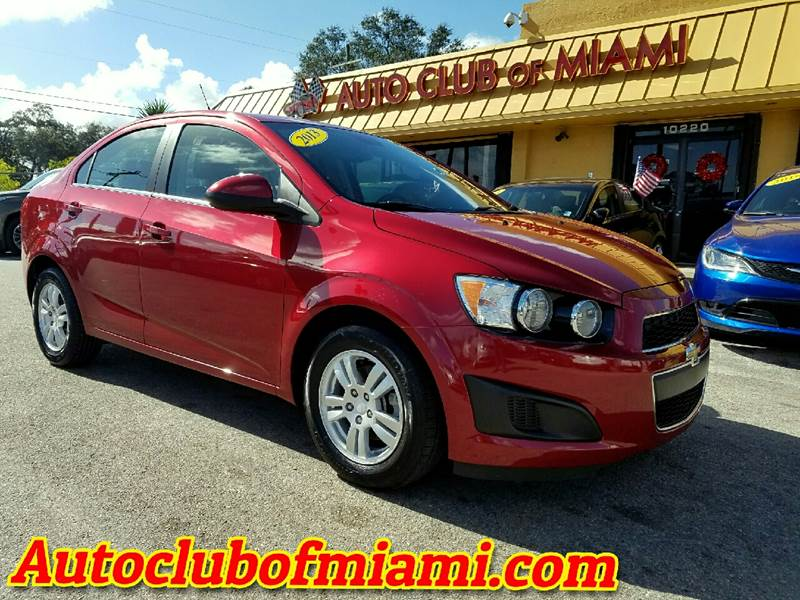 2013 CHEVROLET SONIC LT AUTO 4DR SEDAN red stunning red beauty this 2013 chevroelt sonic auto is