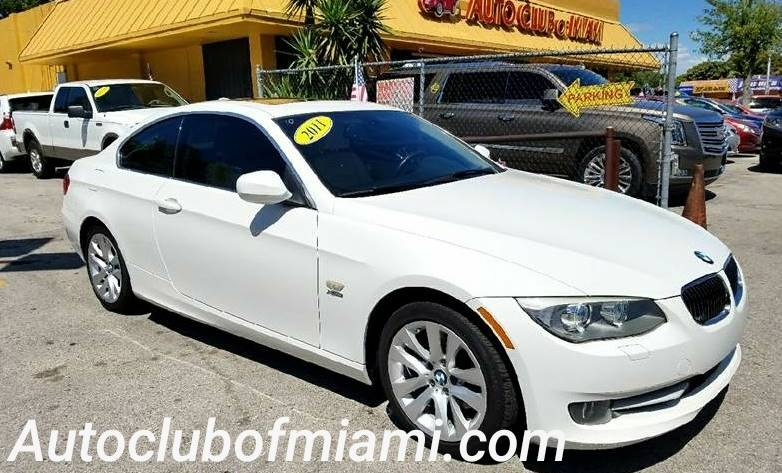 2011 bmw 3 series awd 328i xdrive 2dr coupe in miami fl - auto