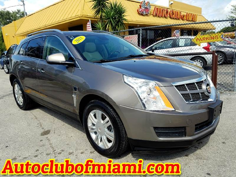 2011 CADILLAC SRX LUXURY COLLECTION AWD 4DR SUV gray very clean cadillac srx4 luxury collection n