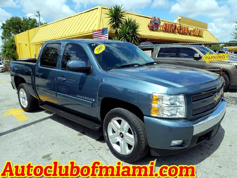 2008 CHEVROLET SILVERADO 1500 LT1 2WD 4DR CREW CAB 58 FT SB blue excellent work or family truck