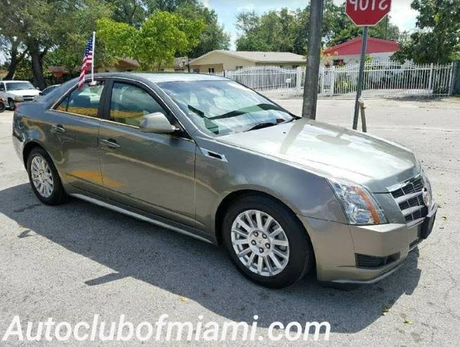 2011 CADILLAC CTS 30L LUXURY AWD 4DR SEDAN gold incredible must see 2011 cadillac cts4 alloy w
