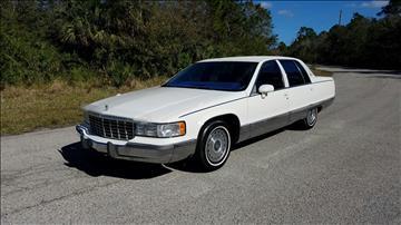 1993 Cadillac Fleetwood for sale in Sebastian, FL