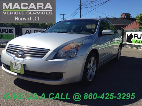 2008 Nissan Altima for sale in Norwich, CT