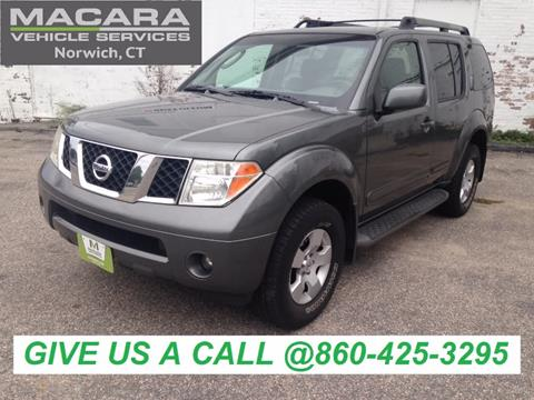 2007 Nissan Pathfinder for sale in Norwich, CT