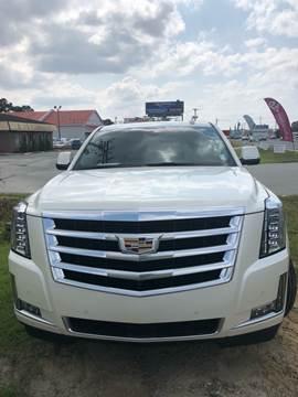 2015 Cadillac Escalade ESV for sale at Gralin Hampton Auto Sales in Summerville SC