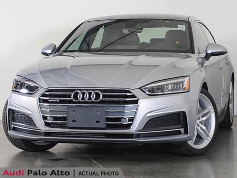 2018 Audi A5 Sportback for sale in Palo Alto, CA