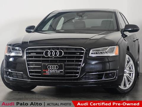 2015 audi a8 for sale carsforsale 2015 audi a8 l for sale in palo alto ca sciox Image collections