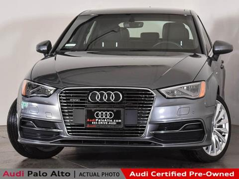 2016 Audi A3 Sportback E Tron For Sale In Palo Alto Ca