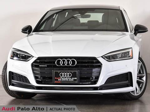 2019 Audi A5 Sportback for sale in Palo Alto, CA