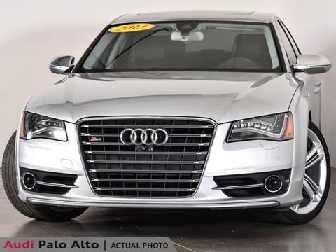 2013 Audi S8 for sale in Palo Alto, CA