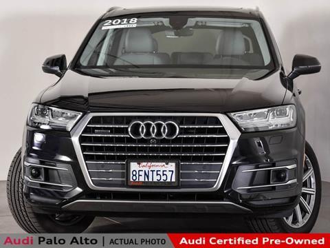 2018 Audi Q7 for sale in Palo Alto, CA