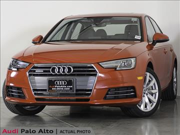 2017 Audi A4 for sale in Palo Alto, CA