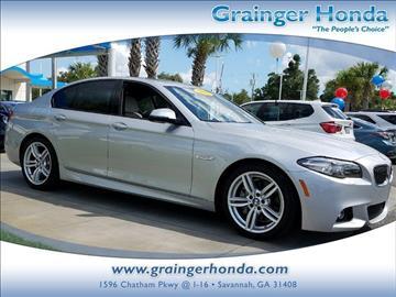 2016 BMW 5 Series for sale in Savannah, GA
