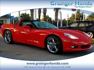 2012 Chevrolet Corvette for sale in Savannah, GA