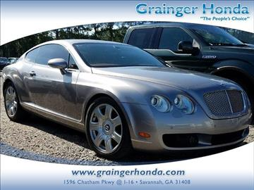 2006 Bentley Continental GT for sale in Savannah, GA