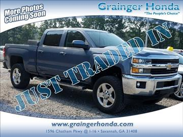 2015 Chevrolet Silverado 2500HD for sale in Savannah, GA