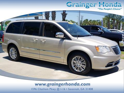 2015 Chrysler Town and Country for sale in Savannah, GA