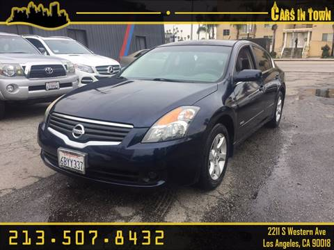 2007 Nissan Altima Hybrid for sale in Los Angeles, CA