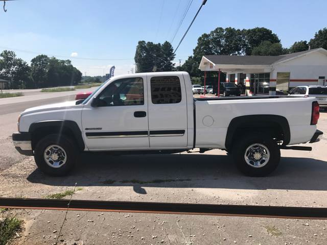 2005 Chevrolet Silverado 2500HD 4dr Extended Cab Work Truck 4WD SB - Somerset KY