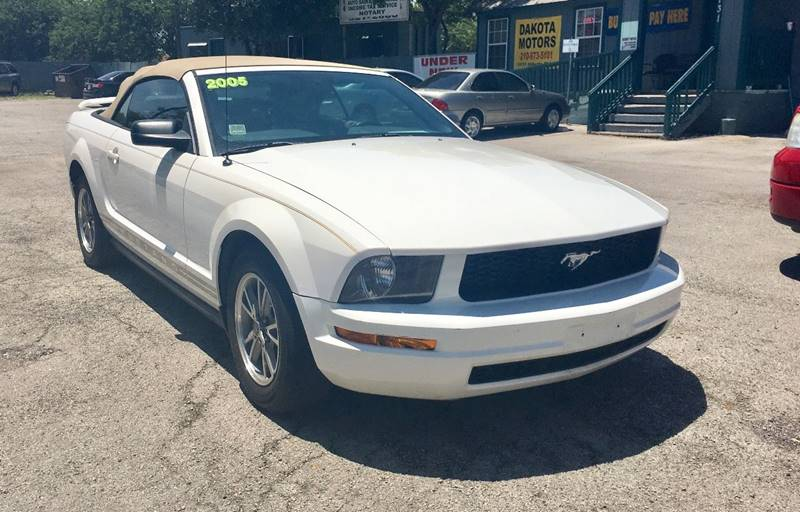 Ford Mustang 2005 V6 Premium 2dr Convertible