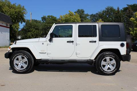 2010 Jeep Wrangler Unlimited for sale in Fitchburg WI
