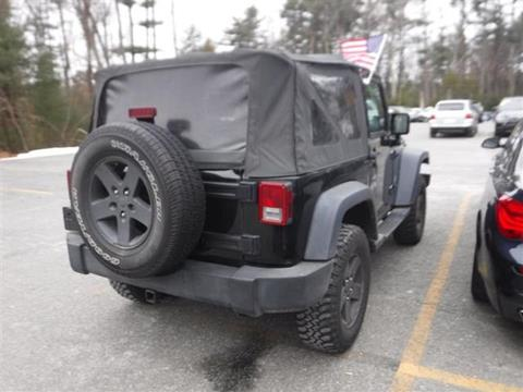 2007 Jeep Wrangler for sale in Manchester, NH