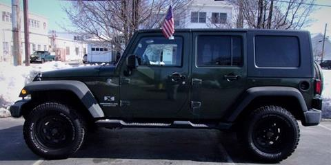 2007 Jeep Wrangler Unlimited for sale in Manchester, NH