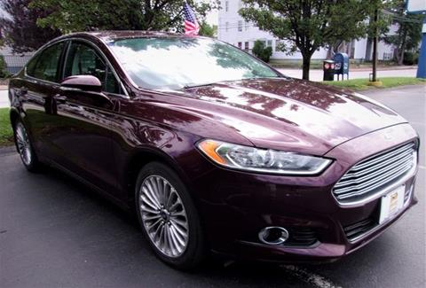 2013 Ford Fusion for sale in Manchester, NH