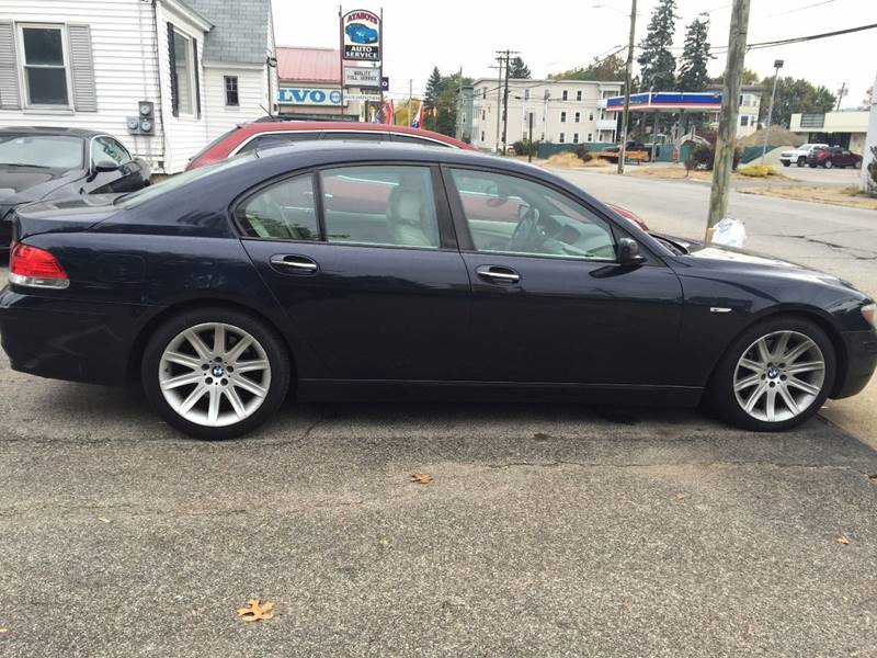 2006 BMW 7 Series for sale at Ataboys Auto Sales in Manchester NH