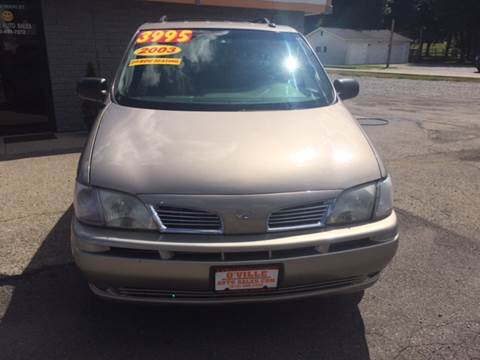 2003 Oldsmobile Silhouette for sale in Owensville, OH