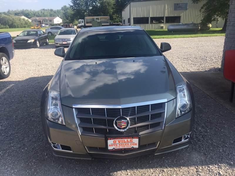 Cadillac Cts Awd  L Vdr Sedan Owensville Oh