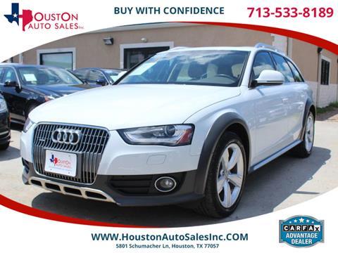 2014 Audi Allroad for sale in Houston, TX