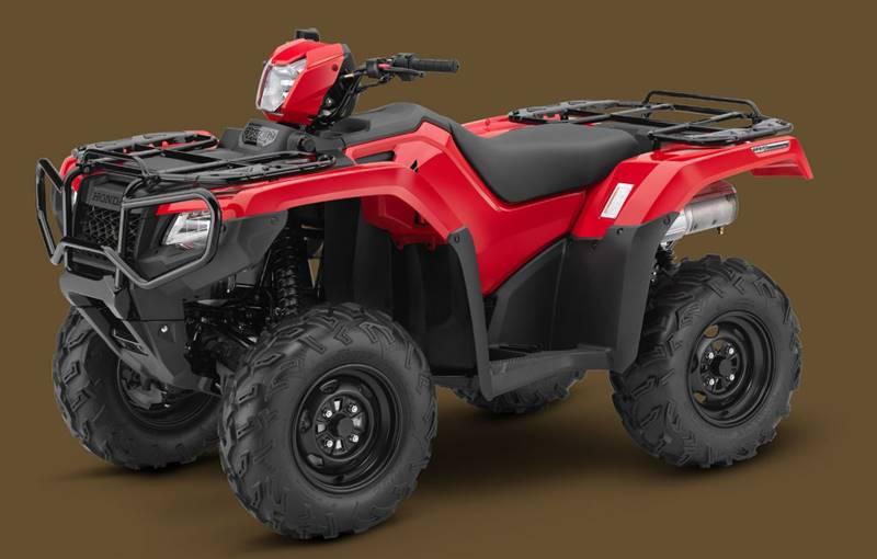 2017 Honda TRX500FA5  - Belle Vernon PA