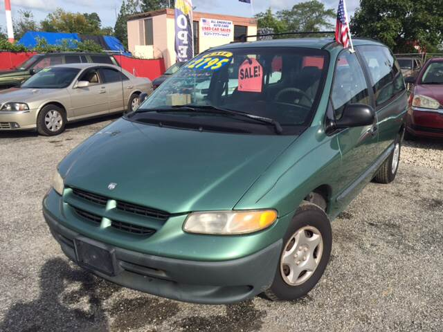 1999 Dodge Caravan for sale at All American Auto Cars in Lindenhurst NY