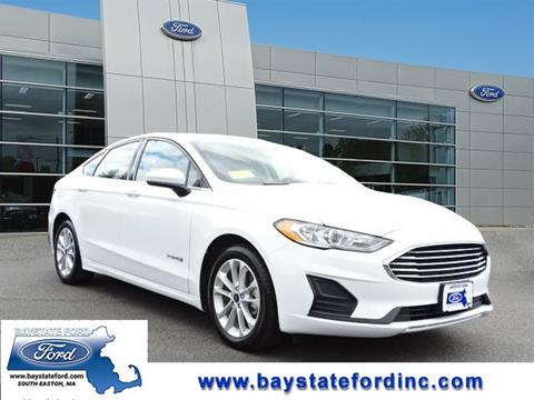 2019 Ford Fusion Hybrid for sale in South Easton, MA