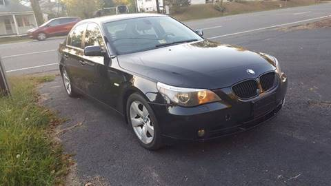 2007 BMW 5 Series for sale in Fredericksburg, VA