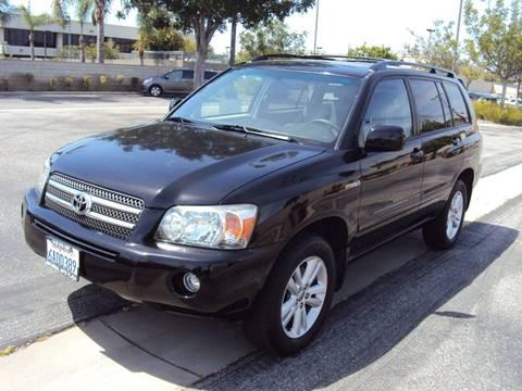 2007 Toyota Highlander Hybrid for sale in Lawndale, CA