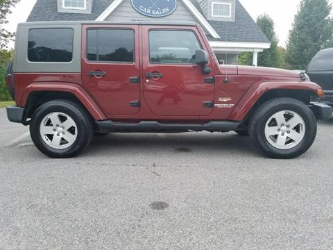 2007 Jeep Wrangler Unlimited for sale in N. Chelmsford, MA