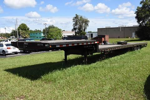 2015 Kaufman DECKOVER GOOSENECK FLATBED 50' for sale in Homosassa, FL