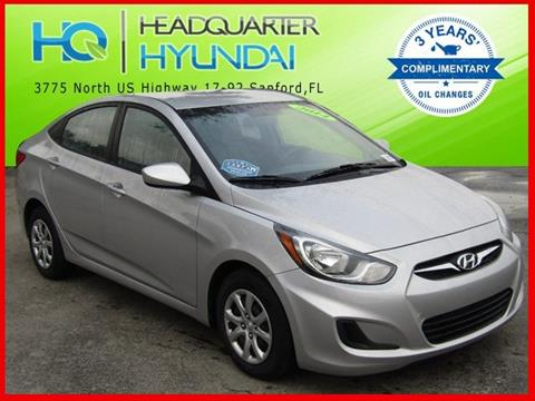 2014 Hyundai Accent for sale in Sanford FL