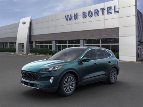 2020 Ford Escape Hybrid Titanium for sale at Van Bortel Ford in East Rochester NY